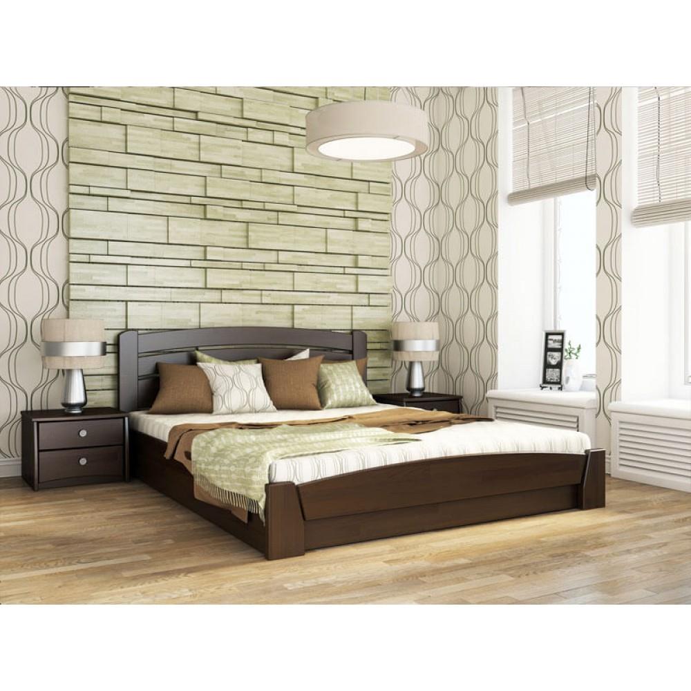 Дерев`яне Ліжко з підйомним механізмом Селена Аурі