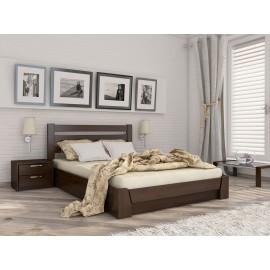 Дерев`яне Ліжко з підйомним механізмом Селена