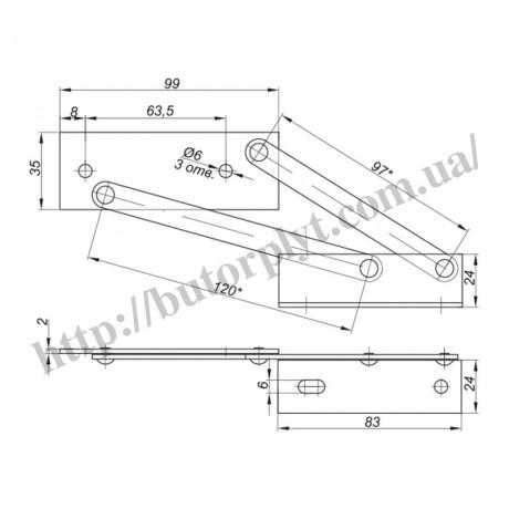 Підйомний механізм Ф. 123. 01 для м'якої частини