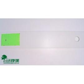 Крайка Polkemic PVC Білий 50G 22x0,6