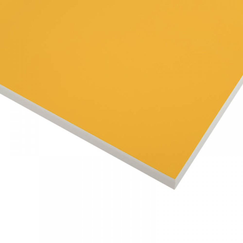 Компакт-плита FUNDERMAX HPL 0010 FH Манго POP ART Mango 4100x610x12 (Біле ядро)