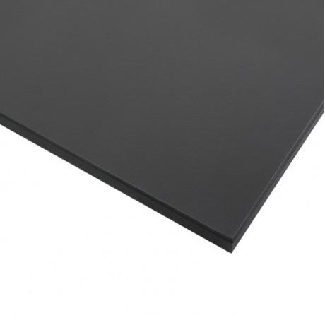 Стільниця FUNDERMAX HPL 0077 FH Деревне вугілля FINE HAMMER Charcoal (чорне ядро)