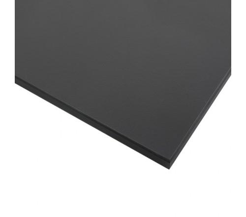 Компакт-плита FUNDERMAX HPL 0077 FH Деревне вугілля FINE HAMMER Charcoal 4100x610x12 (чорне ядро)