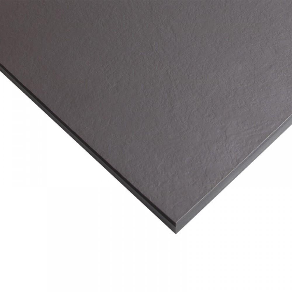 Стільниця FUNDERMAX HPL 0077 SX Деревне вугілля SAXUM Charcoal 4100x640x12 (чорне ядро)