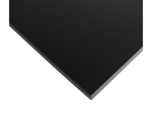 Компакт-плита FUNDERMAX HPL 0080 FH Чорний FINE HAMMER Black 4100x610x12 (чорне ядро)