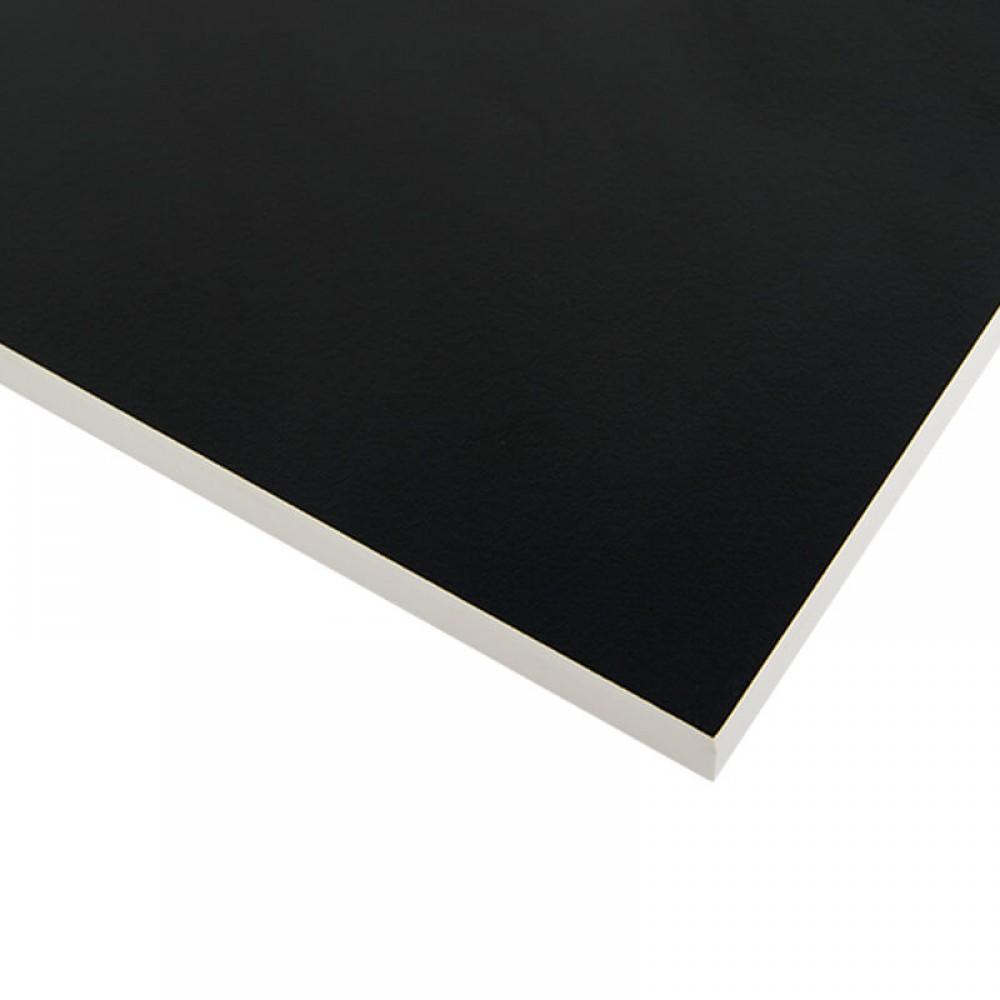 Стільниця FUNDERMAX HPL 0080 FH Чорний POP ART Black (біле ядро)