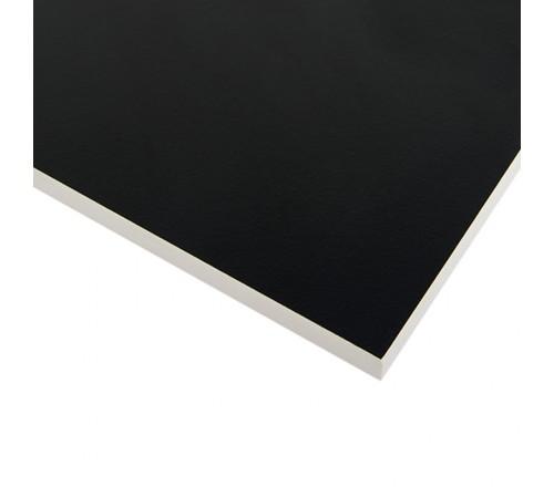 Компакт-плита FUNDERMAX HPL 0080 FH Чорний POP ART Black 4100x610x12 (біле ядро)