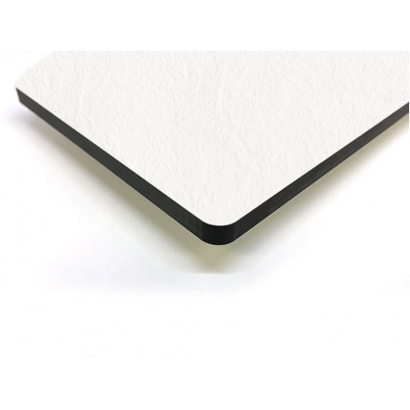 Компакт-плита FUNDERMAX HPL 0085 SX Білий SAXUM White 4100x640x12 (чорне ядро)