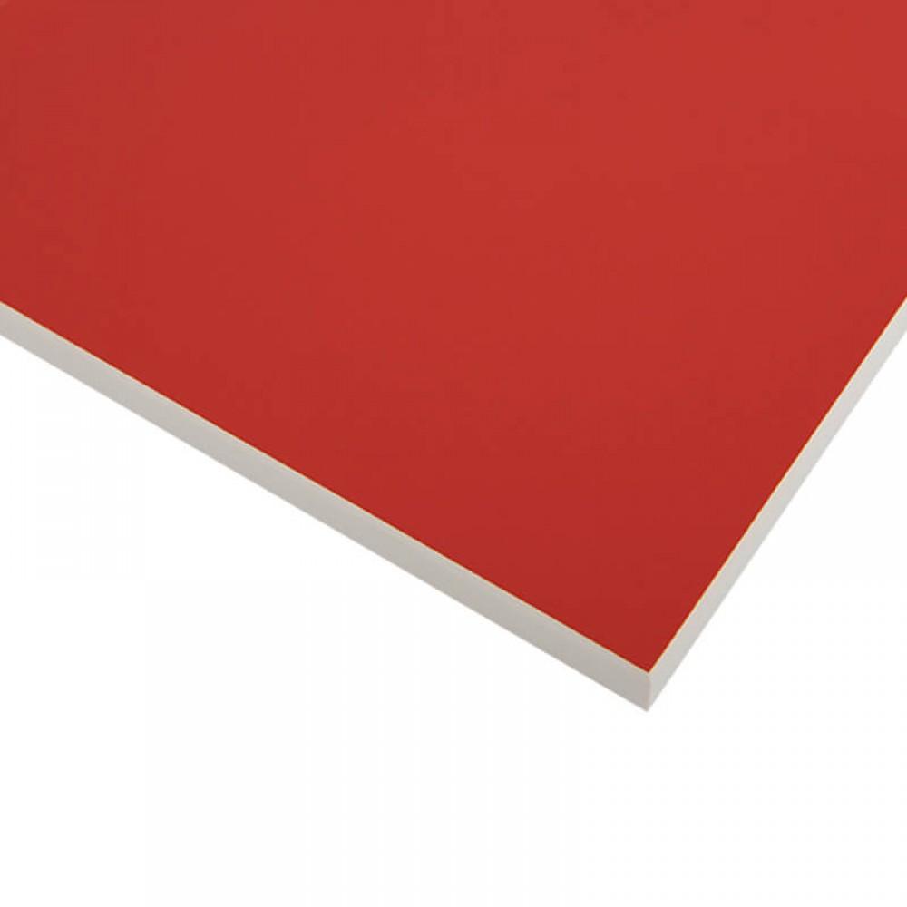 Стільниця FUNDERMAX HPL 0210 FH Інтенсивний червоний POP ART Intensive red (Біле ядро)