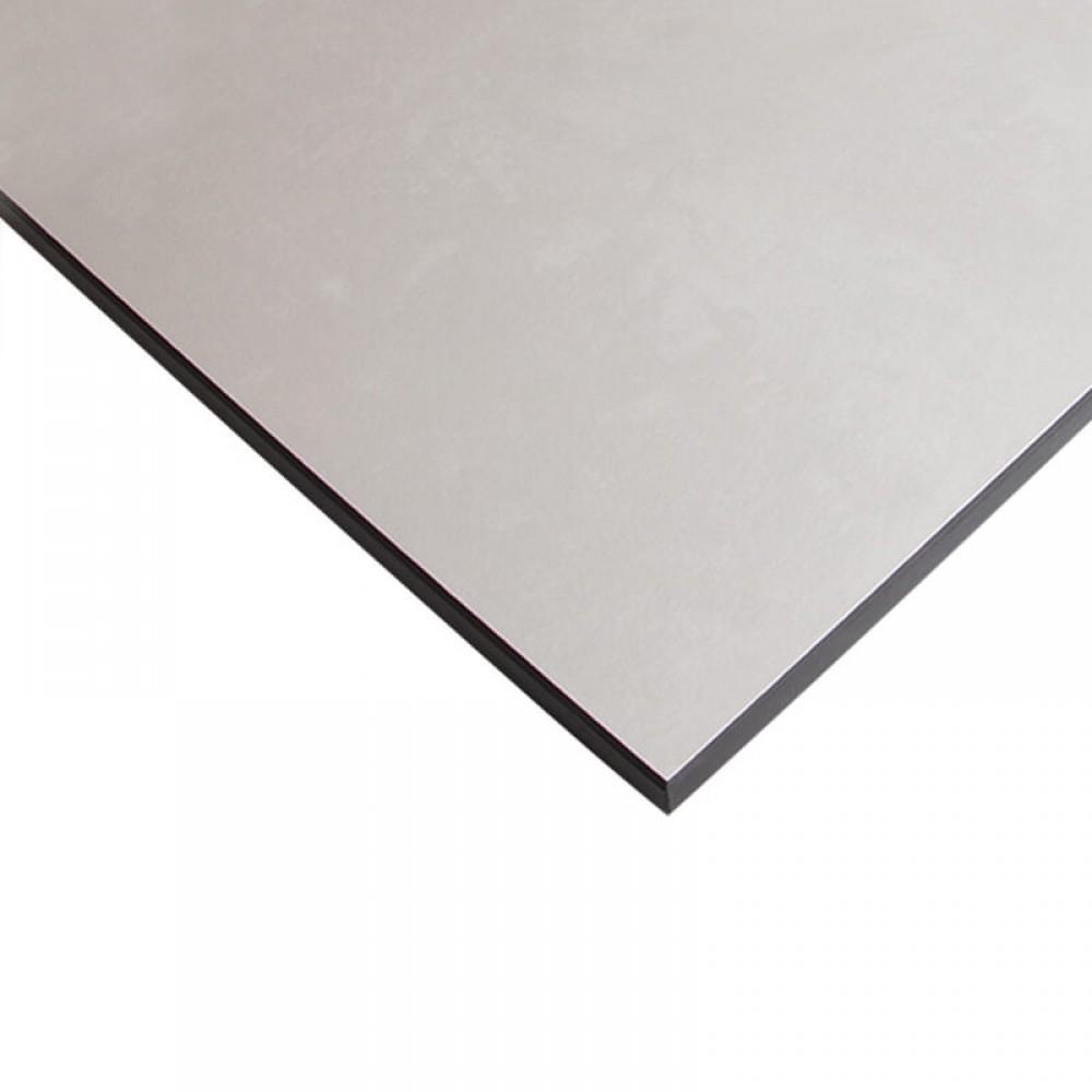 Компакт-плита FUNDERMAX HPL 0565 FH Поляріс FINE HAMMER Polaris 4100x610x12 (чорне ядро)