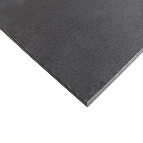 Компакт-плита FUNDERMAX HPL 0566 FH Кара FINE HAMMER Kara 4100x610x12 (чорне ядро)