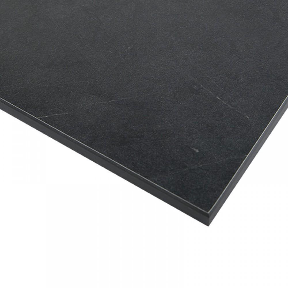 Компакт-плита FUNDERMAX HPL 0599 FH Орка FINE HAMMER Orca 4100x610x12 (чорне ядро)