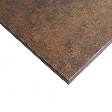 Стільниця FUNDERMAX HPL 0794 FH Патина Бронза FINE HAMMER Patina Bronze (чорне ядро)