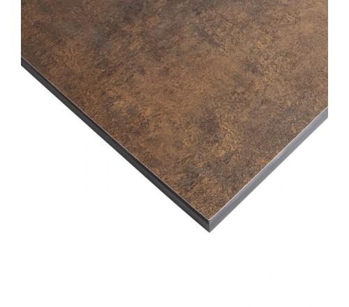Компакт-плита FUNDERMAX HPL 0794 FH Патина Бронза FINE HAMMER Patina Bronze 4100x610x12 (чорне ядро)